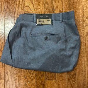 NWT Dockers Grey Gray Dress Pants - 52x30